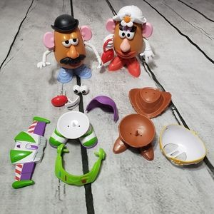 Mr. Potato and Mrs. Potato head toy story set